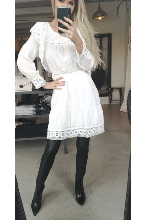 Sif Soft Dress - White